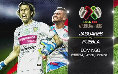 Domingo futbolero: Jagures vs Puebla