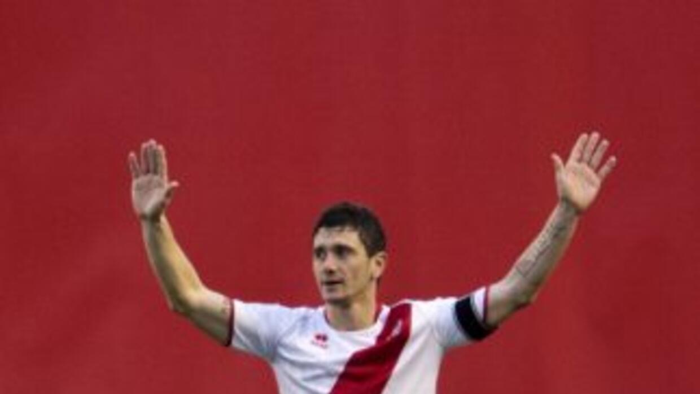 Piti anotó el segundo del Rayo ante Espanyol.