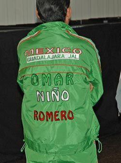 El verde de la bandera mexicana está presente en el equipo del Ni...