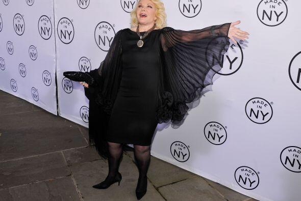 La famosa se caracterizó por su extravagancia a la hora de vestir.