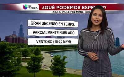 Gran descenso de temperatura en este inicio de semana