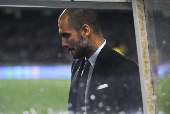 Guardiola quedó sin palabras.