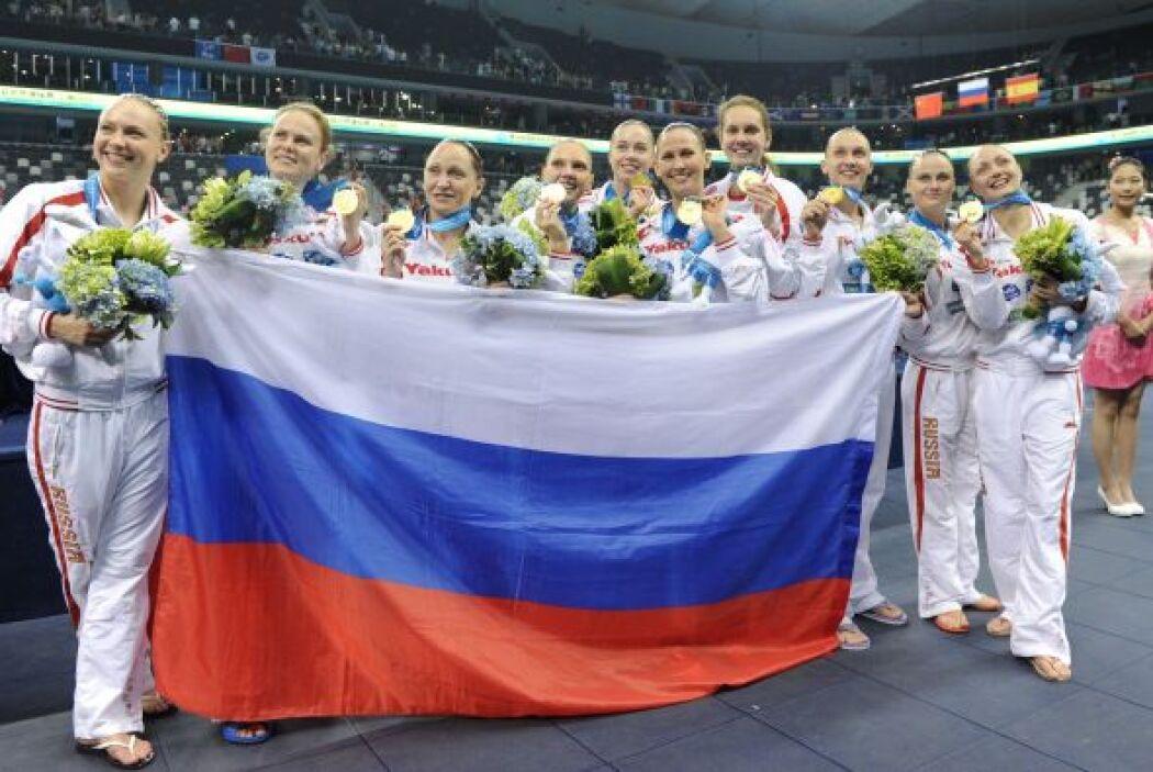 Rusia quedó en la tercera posición, mientras que Brasil se coló al cuart...
