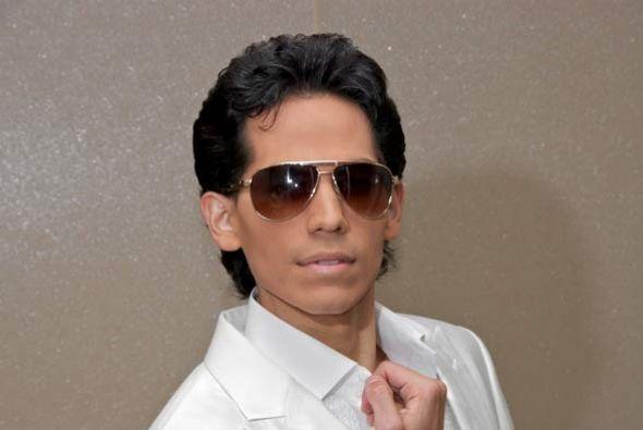 Will Bermúdez tiene un gran parecido con el salsero Mark Anthony.