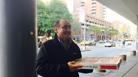 Hugo Méndez Chávez visitó a su hija Geraldine en el...