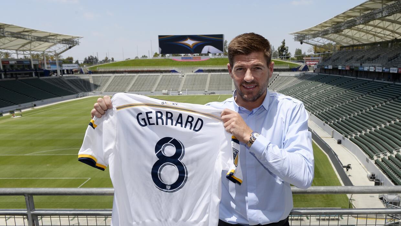Steven Gerrard se estrenará con los Galaxy el próximo s&aa...