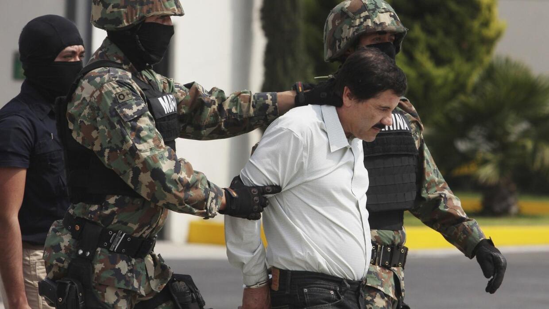 """En incertidumbre la extradición de """"El Chapo"""""""