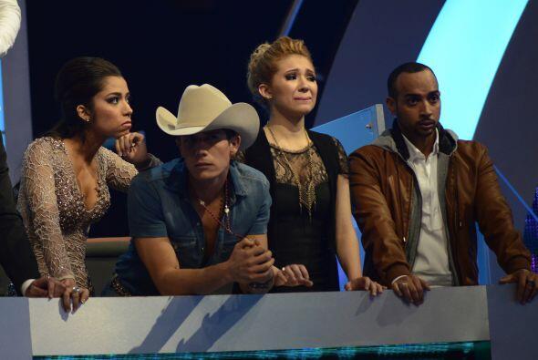 En la gala 8, otra vez no cantó José.