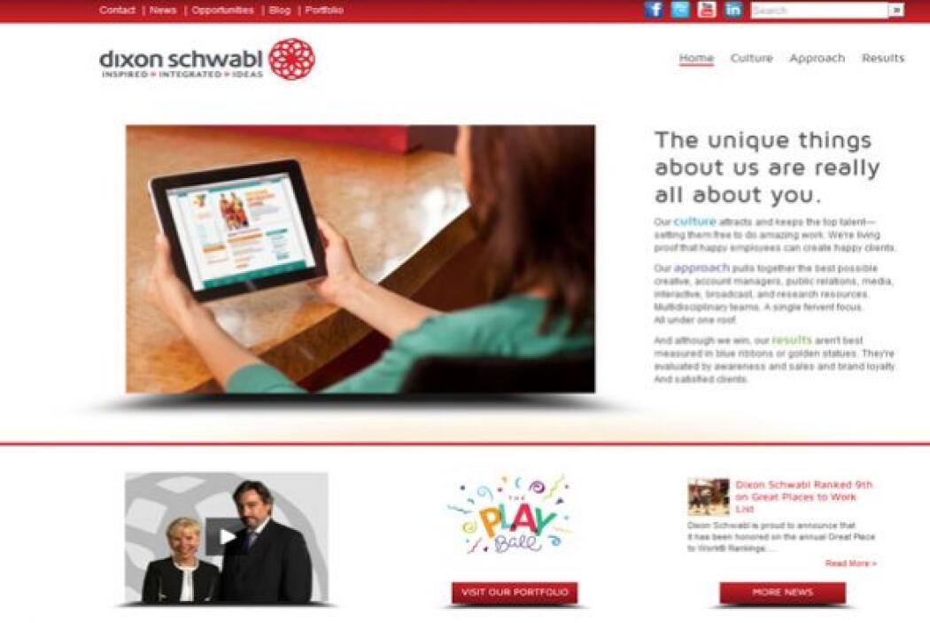 9. Dixon Schwabl  Industria: Marketing y Publicidad.  Número de empleado...