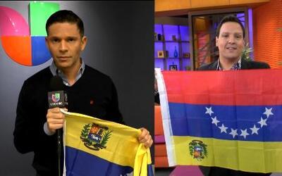 Talentos de Univision unidos en una sola voz por Venezuela
