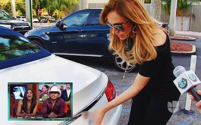 ¿Qué esconde Lili Estefan en el baúl de su carro?