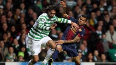 Barcelona sufrió mucho más de lo pensado ante Celtic en la temporada pas...