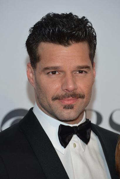 De la forma que sea, Ricky siempre se ve fenomenal.