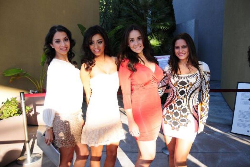 Un grupo de chicas dispuestas a conquistar al jurado.