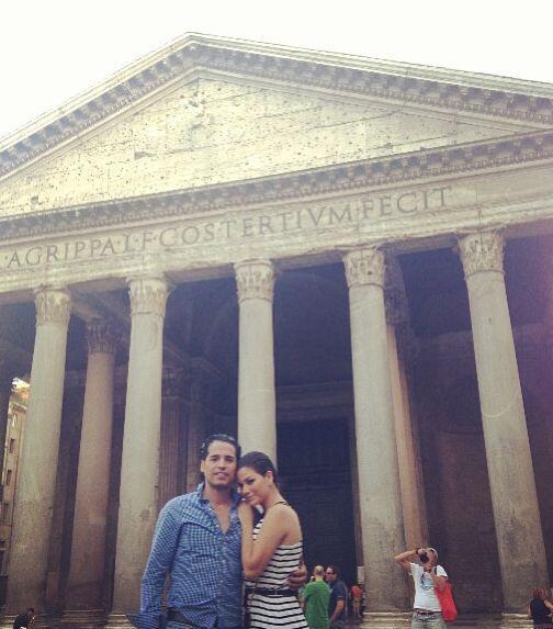 """""""Con mi amor en Roma"""", contó Ana Patricia Gonzál..."""