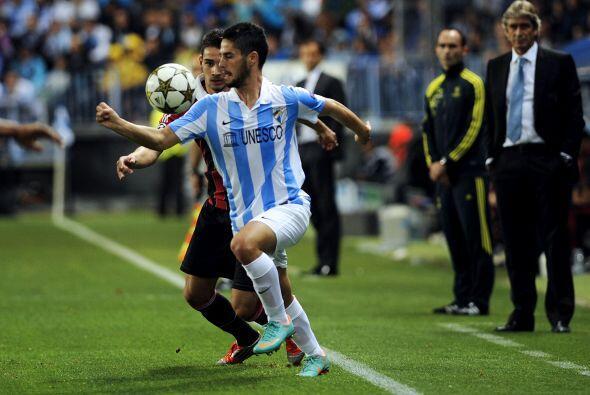El sorprendente Málaga debía tener cuidado cuando enfrentara al Milan, u...