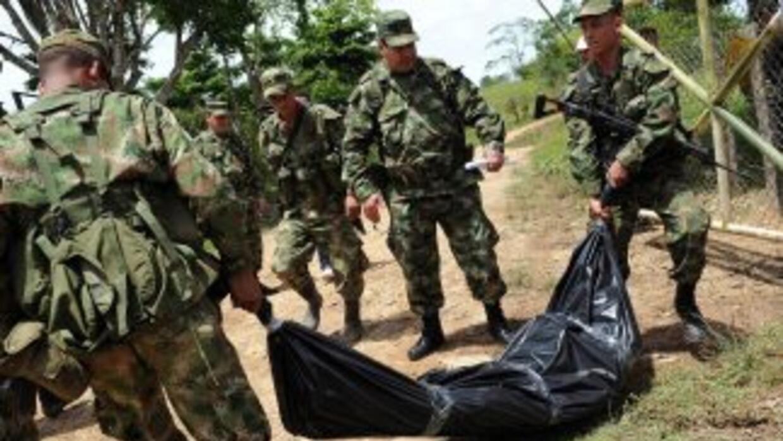 """El ministro calificó como """"un gran golpe"""" a las FARC la muerte de este c..."""