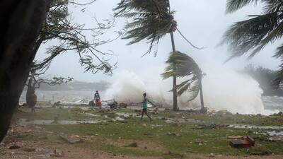 Ciclón Pam arrasa con archipiélago de Vanuatu en el Pacífico