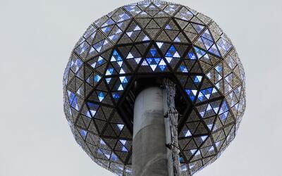 Trabajan a gran ritmo para dejar lista la bola de cristal de Times Square