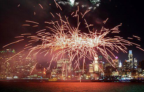 Feliz Año Nuevo en Filadelfia.