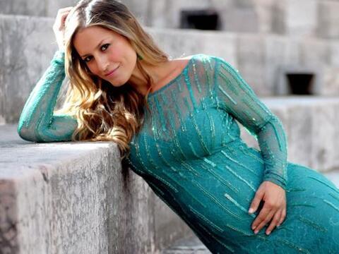 La cantante estuvo en Verno, Italia,donde participó de la opera m...