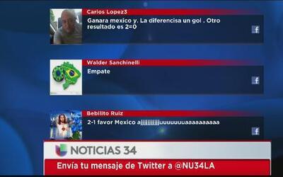 Angelinos vaticinan triunfo para México