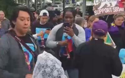'Área de la Bahía en un Minuto': cientos de activistas protestaron contr...