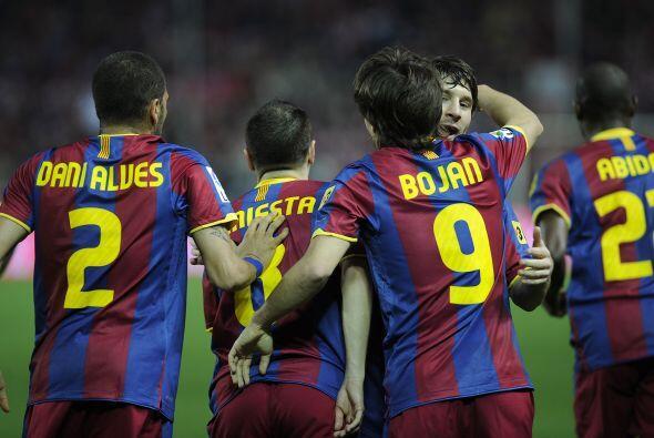 Esto parecía un nuevo triunfo del Barcelona.