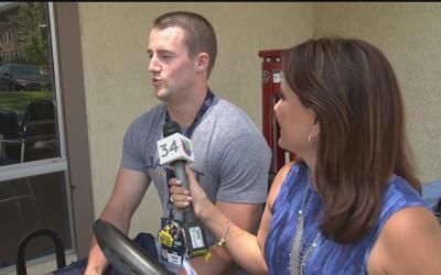 Cody Davis habla sobre Los Ángeles y practica su español