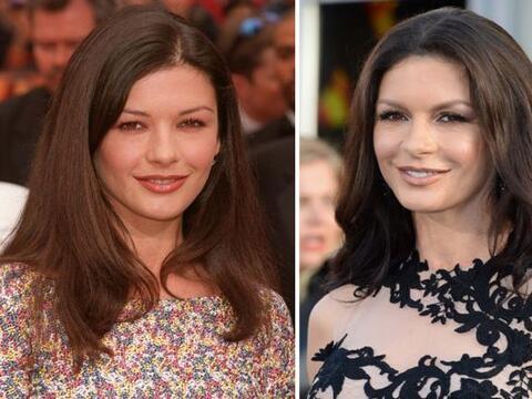 Con más de 40 años, la actriz Catherine Zeta Jones sigue s...