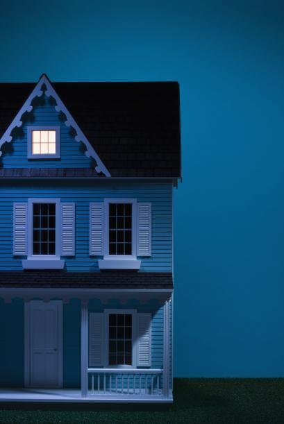 Una casa en la que todos sus habitantes se la pasan discutiendo, peleand...