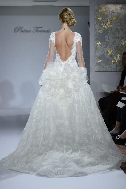 Pero estos modelos no tienen que ser la imitación del vestido de...