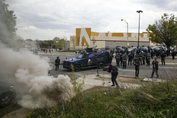 Los enfrentamientos se registraron en diversos puntos de la ciudad.