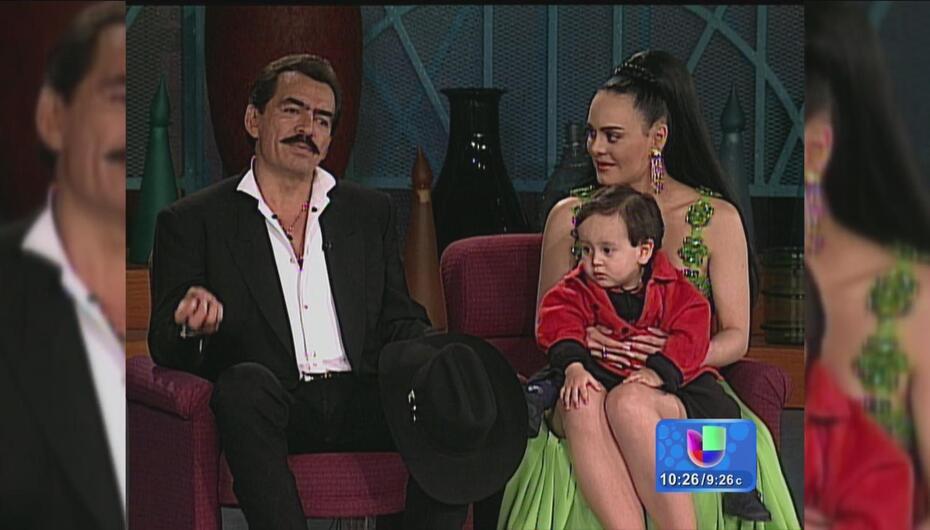 ¡Dulces recuerdos! El día que Joan Sebastian y Maribel visitaron a Cristina