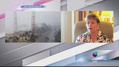 Sharon Riley cuenta cómo pasó el huracán Matthew en Florida