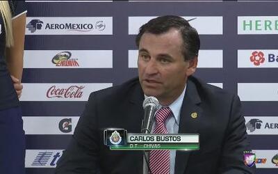 """Carlos Bustos: """"Mucha gente creía que no podíamos ganarle a Pumas"""""""