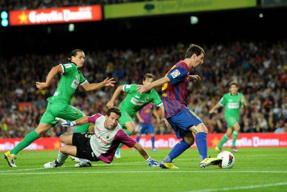 El goleador del Barcelona venía de una dolorosa derrota con Argentina, p...