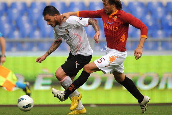 La Roma jugaba un partido clave ante el Palermo.