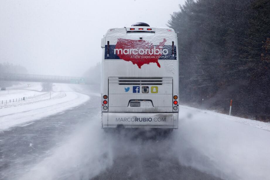 ¿Por quién vota la nieve en las primarias de New Hampshire? road-snow.jpg