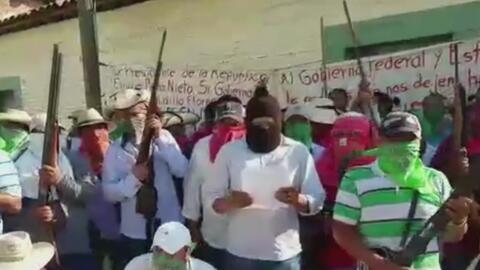 Habitantes de Guerrero se cansan de los secuestros y deciden tomar la ju...