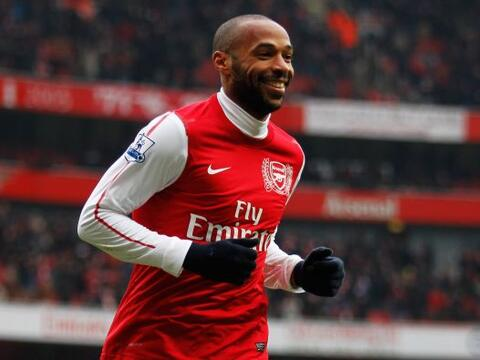 En el décimo lugar tenemos al francés Thierry Henry quien...