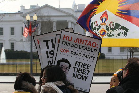 Fue la primera visita de Hu a Estados Unidos desde 2006, cuando la cerem...