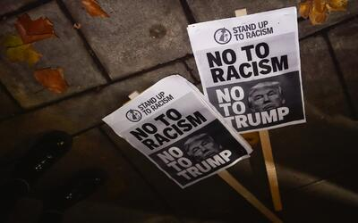Reports of racist incidents have increased since Donald Trump was electe...