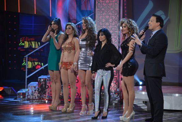Las cuatro eliminadas, Esther, Dileydi, Denisse y Gaby estaban impacient...