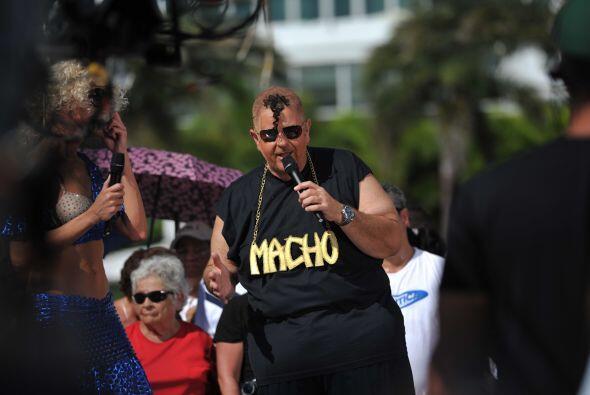 Este año Raúl estuvo tanto hablando de El 'Macho' Camacho...