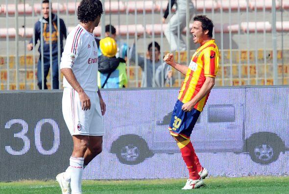Carlos Grossmüller puso las cosas 3-0, el Milan caía por ese resultado c...