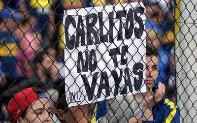 La gente de Boca quiere que Tévez permanezca en el club.