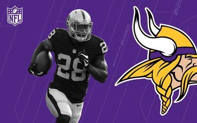Latavius Murray será el nuevo corredor de los Minnesota Vikings