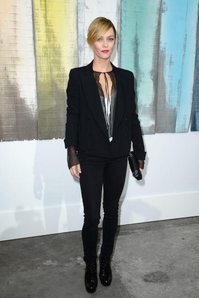 La elegancia es el segundo nombre de Vanessa Paradis. La modelo es fanát...