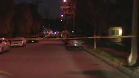 Un hombre armado murió luego de que la policía tuviera dispararle para c...